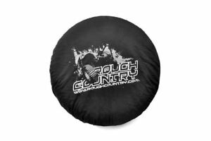 Rough Country Tc33 Spare Tire Cover Rc Logo Jeep For 33 Tires