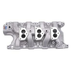 Edelbrock 5412 289 302 Ford Three Deuce Tri Power Intake Manifold