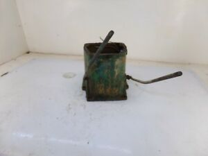 Oliver 88 Gas Tractor Hydraulic Spools Cover