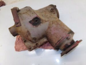 Farmall H Tractor Belt Pulley Drive