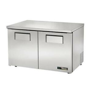 True Tuc 48f lp hc 48 Two Section Low Profile Undercounter Freezer