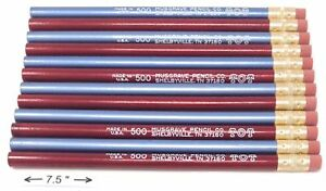 Jumbo Tot Pencil Round 10mm Metallic Blue And Red Med Soft Core Pack Of 12