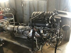 2018 Chevrolet Silver5 3l V8 Engine Liftout With Transmission And T case