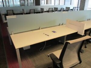 Used Office Cubicles Steelcase Frame One 6x2 5 Cubicles