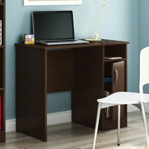 South Shore Axess Collection 35w In Small Desk Chocolate Chocolate