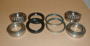 Maserati Biturbo Rear Wheel Bearing Seal Set Kit 5 Lug Bolt Cars New