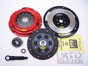 Xtd Stage 2 Race Clutch 8lbs Flywheel 89 91 Civic Crx D15 D16 Cable