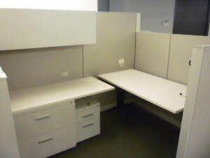 Used Office Cubicles Steelcase Answer 7 5x5 5 Cubicles