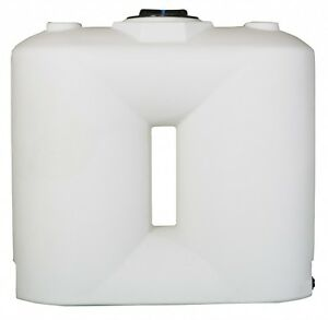 500 Gallon White Freestanding Poly Tank Container 74 x31 x70 water Or Chemical