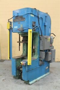 50 Ton Denison Hydraulic C Frame Press Yoder 61510
