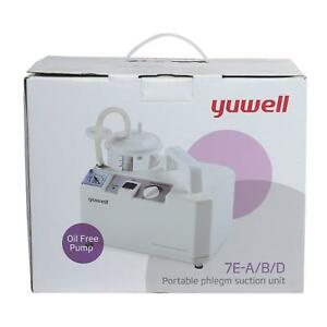 Easycare Yuwell Patient Portable Phlegm Suction Machine Free Shipping