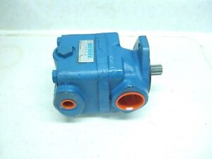 Vickers Vane Pump V20 1p6p38c Splined Shaft Npt 6 Gpm New Hydraulic Steering