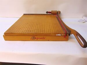 Ingento No 5 15 Heavy Duty Paper Cutter Good Working Condition S3760