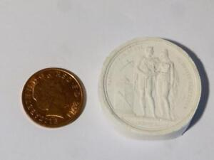 Plaster Napoleon And Wife Louise 1810 Moulding Medal Obv Rev Grand Tour Item 8
