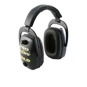 Pro Ears Pro Slim Gold Black Gs dp black Earmuffs Hearing Protection Shooting