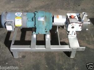 Apv Stainless Positive Displacement Pump Sanitary