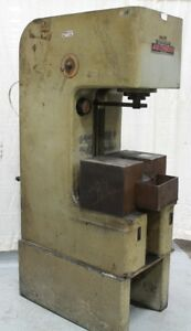 10 Ton Denison Hydraulic C Frame Press Yoder 63291