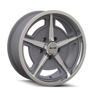 Cpp Ridler 605 Wheels 17x7 Fits Fairlane Thunderbird