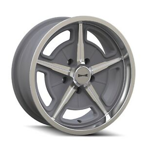 Cpp Ridler 605 Wheels 17x7 20x10 Fits Plymouth Belvedere Fury Gtx