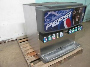 servend H d Commercial Counter top Lighted 10 Heads Soda Dispenser W ice Bin
