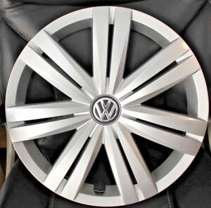 Vw Passat 2014 To 2015 Hubcap 1 Factory 16 Original 61568 Wheelcover A89