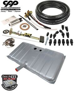 1969 69 Chevy Camaro Ls Efi Fuel Injection Gas Tank Fi Conversion Kit 90 Ohm