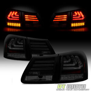 For Blk 2007 2011 Lexus Gs300 Gs350 Gs430 Gs460 Lumiled Led Tail Lights