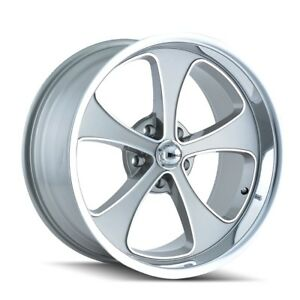 Cpp Ridler 645 Wheels 17x7 18x9 5 Fits Chevy Caprice Impala Ss