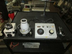Lot Of Microscope Parts