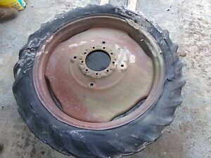 Oliver 60 Tractor Rear Tire And Rim