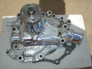 Tuff Stuff 1469a Ford 351c Cleveland Engine Chrome Water Pump