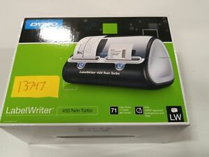 Dymo Label Writer 450 Twin Turbo Label Printer 71 Labels Per Minute Black s