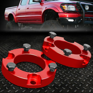 For 1995 2004 Toyota Tacoma 4runner 2wd 4wd Red 2 F Spacers Leveling Lift Kit