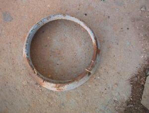 1957 Ford Headlight Trim Ring Bezel Door