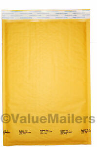 4 Bubble Lite 9 5x14 5 Kraft Bubble Mailers Padded Envelopes Bags 100 To 2000
