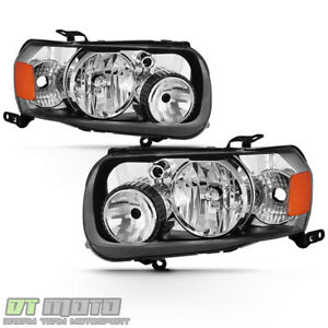 2005 2007 Ford Escape Factory Style Headlights Headlamps Replacement Left right