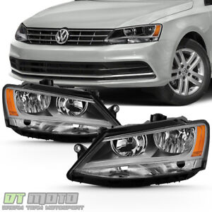 2011 2018 Volkswagen Jetta Headlights Headlamps Factory Halogen Model Left Right