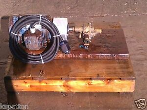 1 5 Hp Brass Positive Displacement Pump 3 4 X 3 4