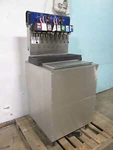 servend Di 2323 Commercial 8 Heads Free standing Soda Dispenser W p