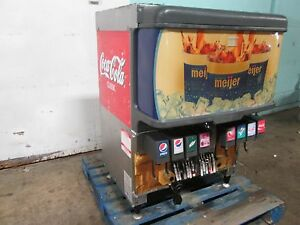 cornelius Df250bcz Hd Commercial Lighted 8 Flavors Soda W ice Dispenser nsf