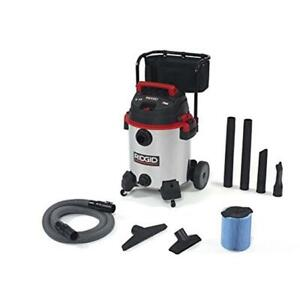 Ridgid 632 50353 Wet Dry Vacuum With Stainless 1610rv Red 16 Gallon