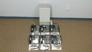 Nortel Mics Office Phone System Package 6 M7310 8 Lines Caller Id