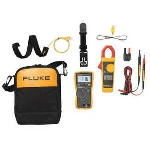 Multimeter And Clampmeter Kit Fluke Fluke 116 323