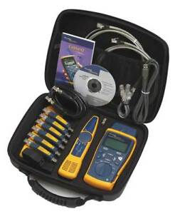 Cable Tester Kit qualifier Fluke Networks Ciq kit