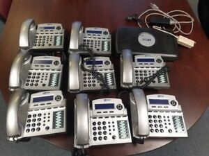 Xblue X16 Office Phone System With 8 telephones
