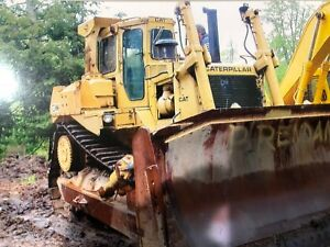 1988 Caterpillar D8l Low Hours Runs Excellent