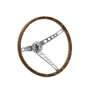 Mustang Steering Wheel Woodgrain 1965 1966 Cj Pony Parts