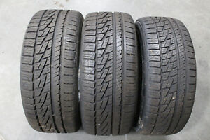 3 Falken Ziex Ze950 A s Tires Qty 2 245 45r17 Qty 1 225 45r17 90 Tread Left