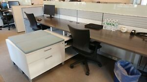 Used Office Cubicles Allsteel Stride 5 5x5 5 Cubicles