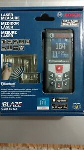 Bosch Glm 50 Cx 165ft Laser Measure Bluetooth New
